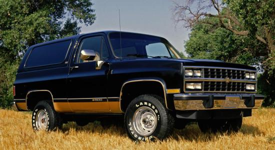 Chevrolet K5 Blazer на IronHorse.ru ©