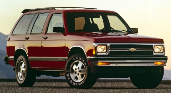 Chevrolet S-10 Blazer на IronHorse.ru ©