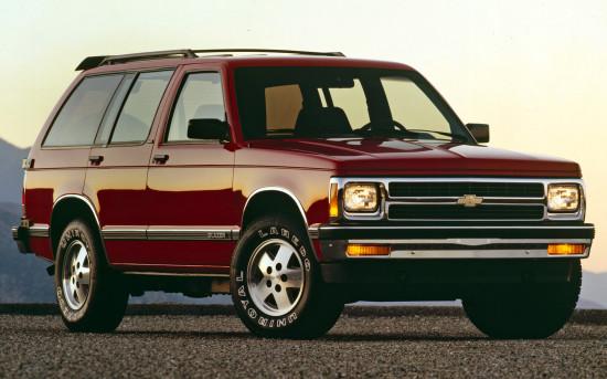 пятидверный Chevrolet S-10 Blazer