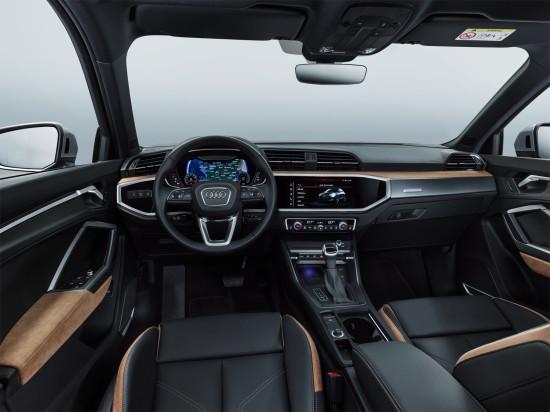 интерьер салона Audi Q3 II