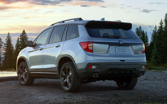 Honda Passport 3 (2019-2020)
