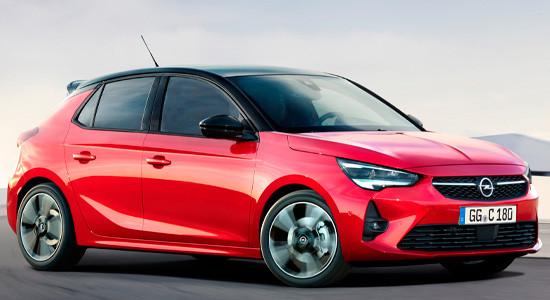 Opel Corsa F (2020-2021) на IronHorse.ru ©
