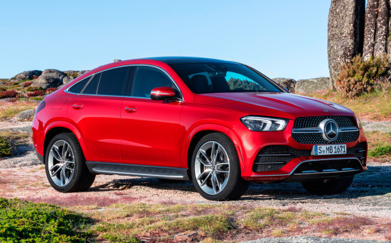 «Эмоциональный» Mercedes-Benz GLE II Coupe
