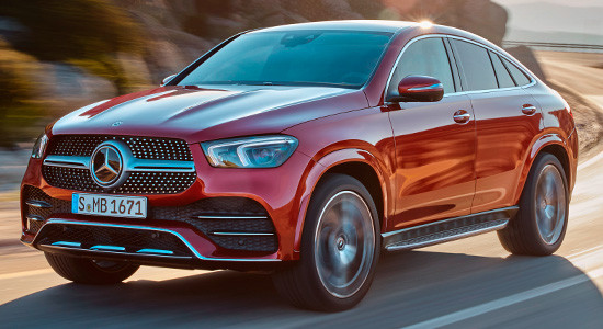 Mercedes-Benz GLE Coupe (C167) на IronHorse.ru ©