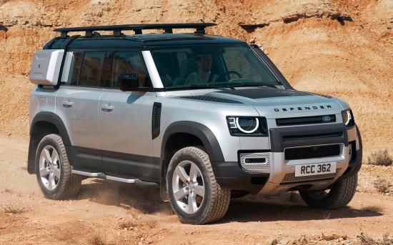 Второй Land Rover Defender 110