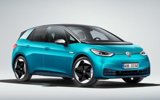Электро-«пионер» Volkswagen: ID.3