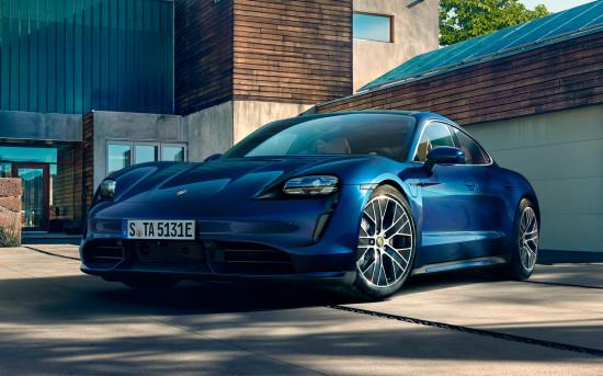 Эко-премиум седан Porsche: Taycan