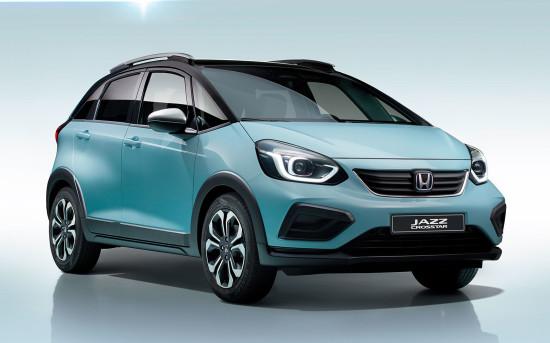 Honda Jazz 4 e:HEV Crosstar