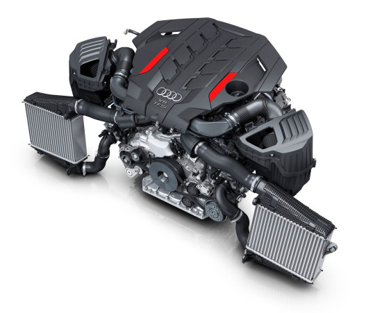 двигатель Audi S8 (D5)