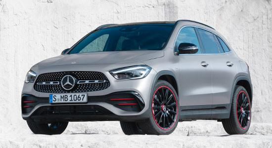 Mercedes-Benz GLA (2020-2021) на IronHorse.ru ©