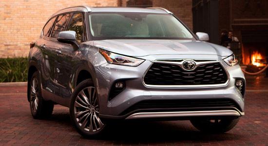 Toyota Highlander 4 (%year%)