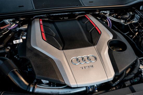 под капотом Audi S6 (8-й кузов)