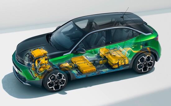 электромобиль Opel Mokka-e