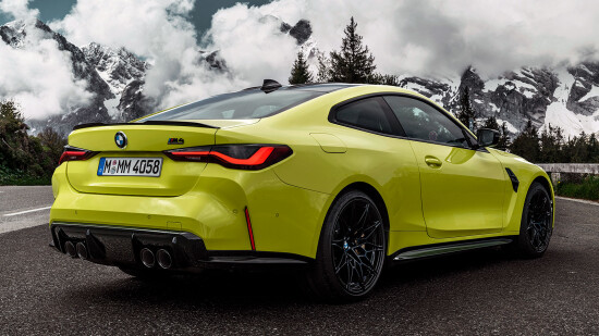BMW M4 Coupe (G82)