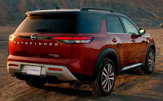 Nissan Pathfinder V (2021-2022)