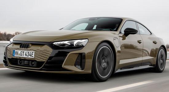 Audi e-tron GT на IronHorse.ru ©