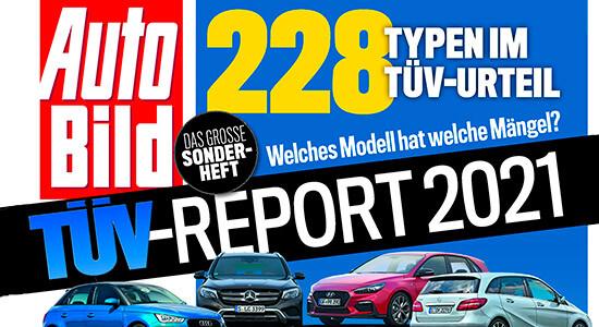 рейтинг надёжности авто TUV Report 2021 на IronHorse.ru ©
