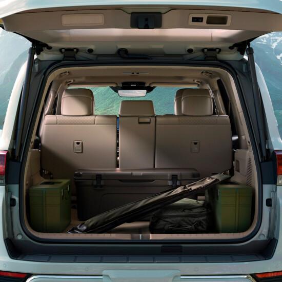 багажное отделение Land Cruiser 300