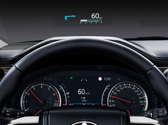 панель приборов Land Cruiser 300