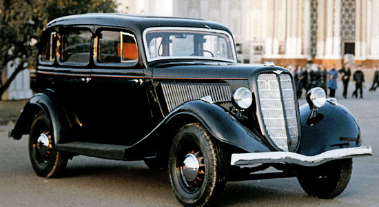 ГАЗ М-1 (1936-1943) на IronHorse.ru ©
