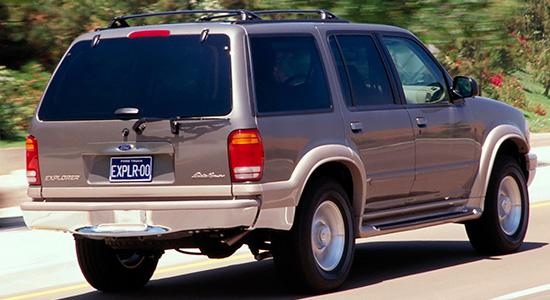 ford explorer 1995 трехдверный