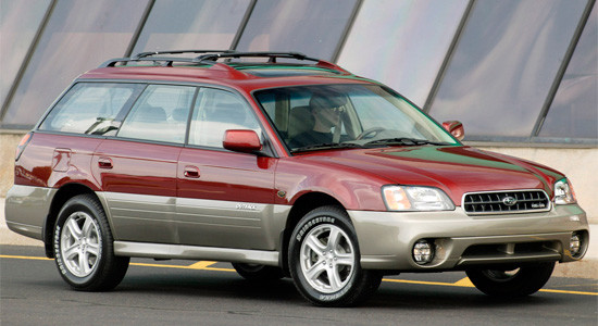 Subaru Outback 2 (2000-2003) на IronHorse.ru ©