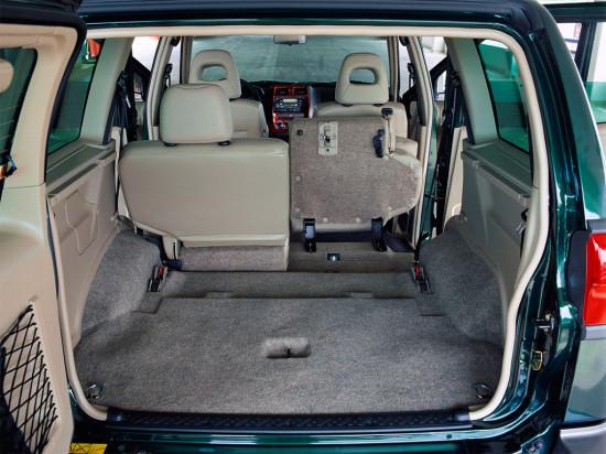 багажное отделение Nissan Terrano II
