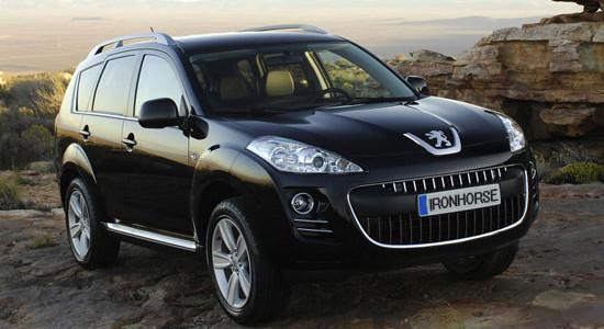 Peugeot 4007 на IronHorse.ru ©