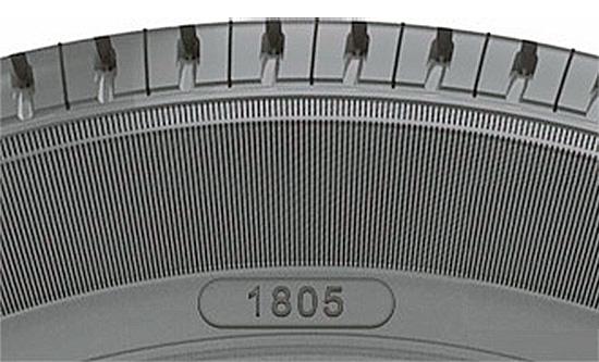 маркировка даты производства шин