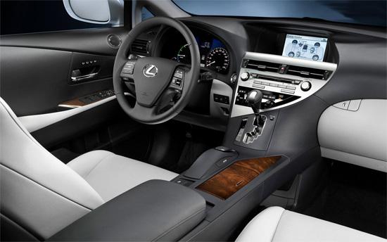 интерьер Lexus RX 2009