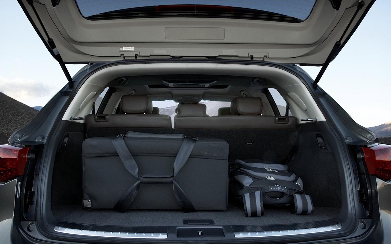 Технические характеристики Infiniti FX50 5.0 AWD (S51 ...