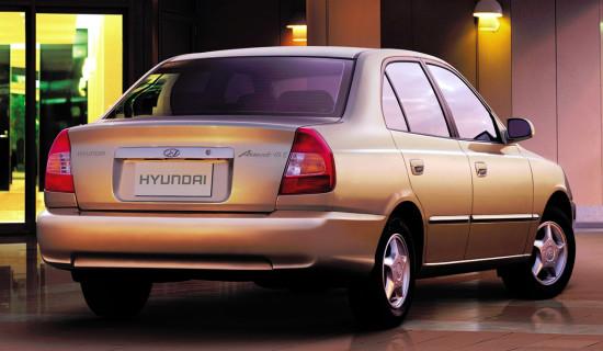 Hyundai Accent 2 Sedan