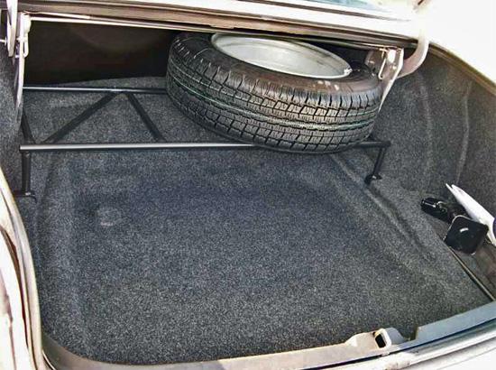 багажный отсек ГАЗ-31105 Волга