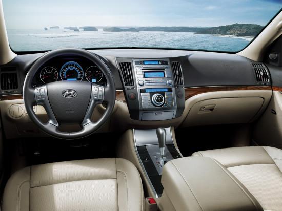 приборная панель и центральная консоль Hyundai ix55