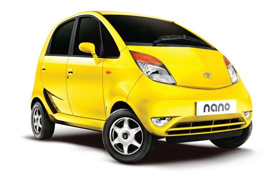 автомобиль Тата Нано