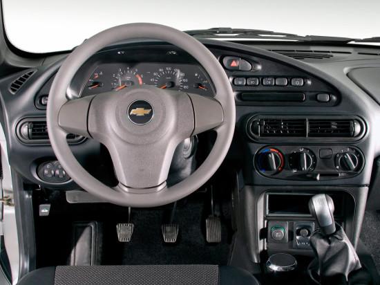 интерьер салона Chevrolet Niva