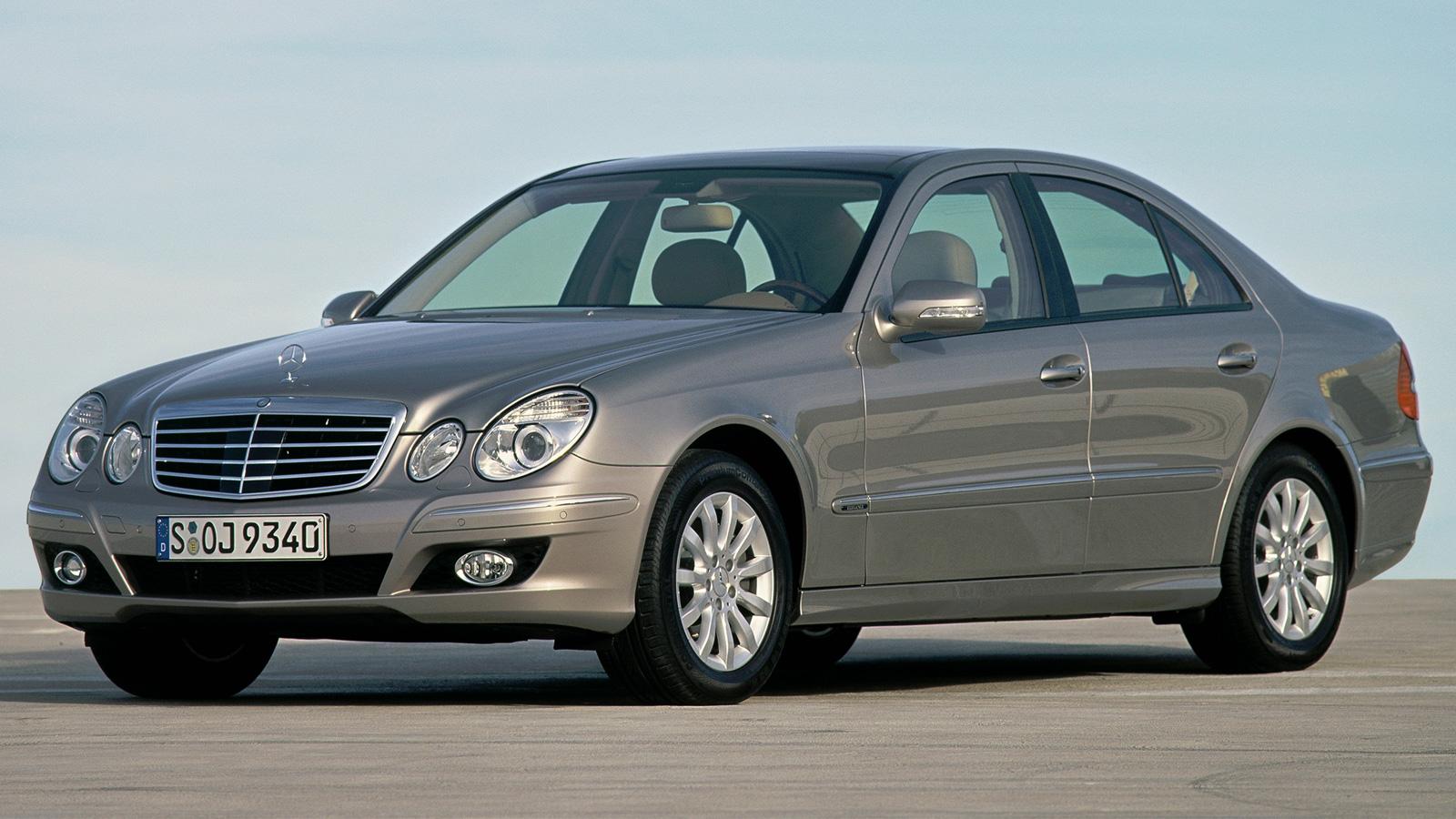 Mercedes Benz E Class W211 технические характеристики обзор и фотографии