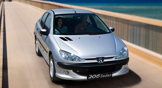 Peugeot 206 Sedan на IronHorse.ru ©