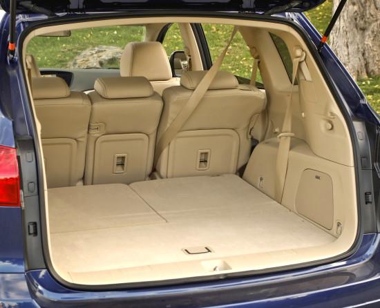 багажное отделение Subaru Tribeca