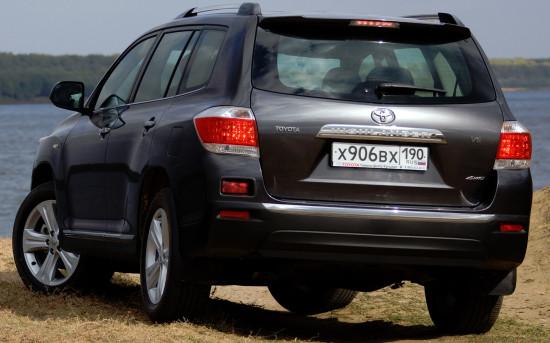 Toyota Highlander 2 (2011-2014)