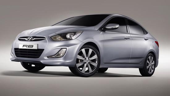 Hyundai представил концепт российского седана RB.