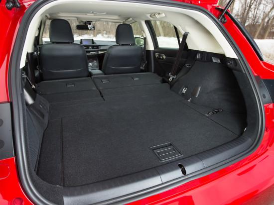 багажное отделение (задний диван сложен)