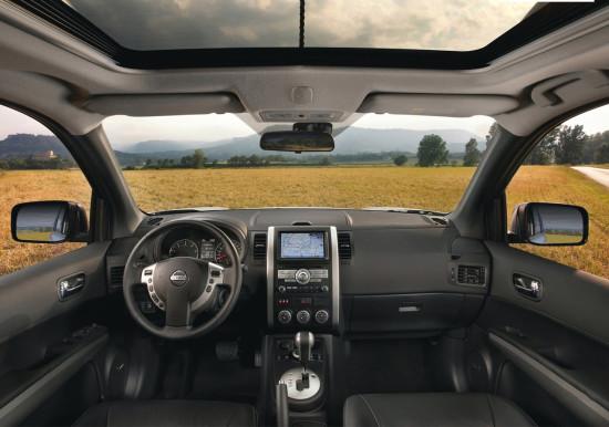 интерьер Nissan X-Trail T31