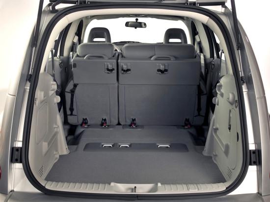 багажное отделение Chrysler PT Cruiser