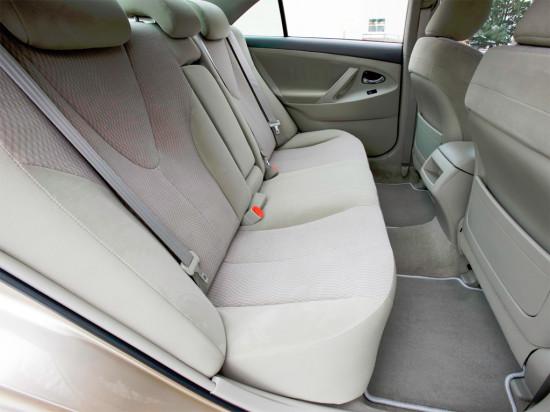 в салоне Toyota Camry XV40
