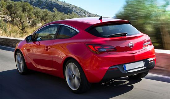 фото Opel Astra GTC