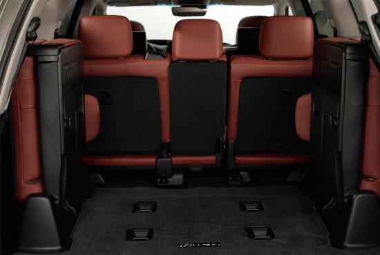 багажное отделение LX-570