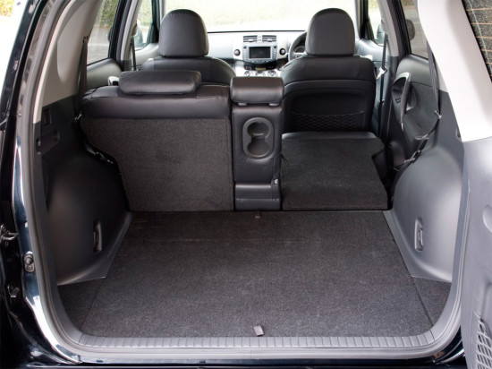 багажное отделение  Toyota RAV4 3-го поколения