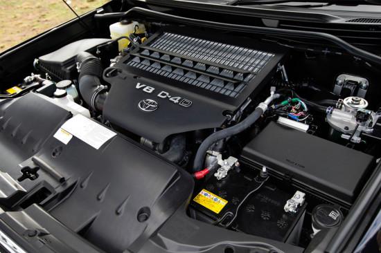 дизельный двигатель Тойоты Лэнд Крузера 200
