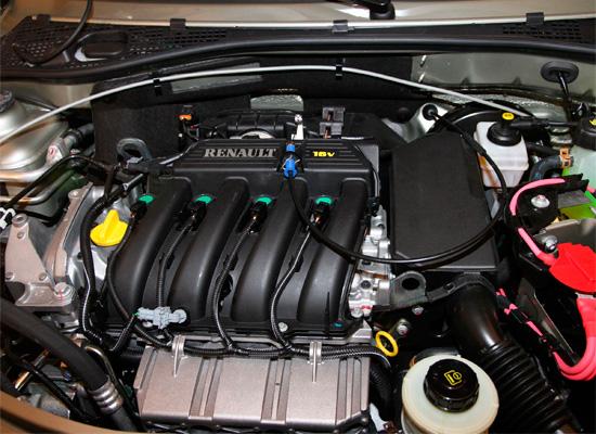 двигатель Lada Largus